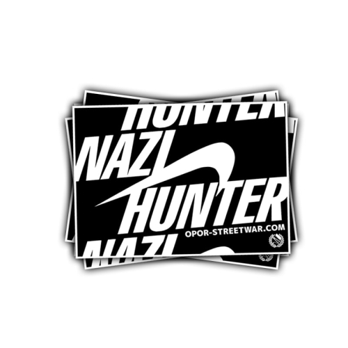 stickerpack nazihunter #1 (black)